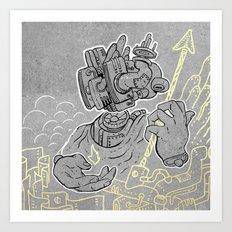 Archer V2 Art Print