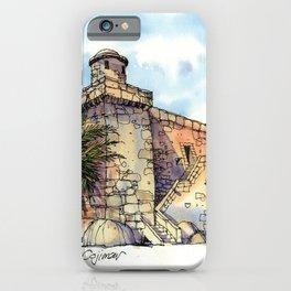 Hemingway's Cuba:  Fortress at Cojimar iPhone Case