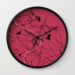 A tangled mess Wall Clock