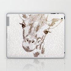 The Intellectual Giraffe Laptop & iPad Skin