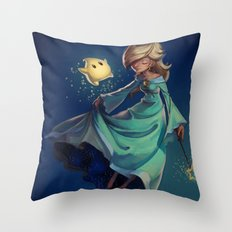 Mother of the Universe Throw Pillow