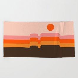 Honey Hills Beach Towel
