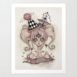 Circus Vision Art Print