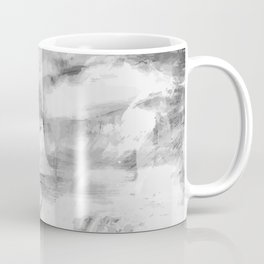Triskelion Book Abstract Black and White by Ericka O'Rourke Coffee Mug