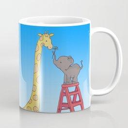 Uneven height love Coffee Mug