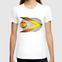 spain T-shirts featuring Spain by ilustrarte