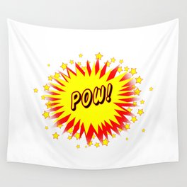 Cartoon Pow Wall Tapestry