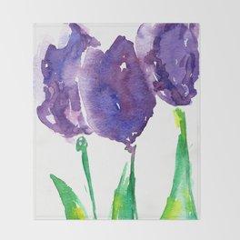 flower X Throw Blanket