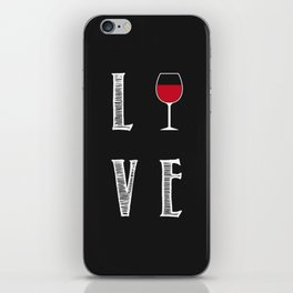 Love Wine iPhone Skin