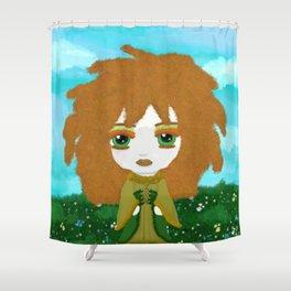 Little Fierce Princess - Keltie (Kira's World) Shower Curtain