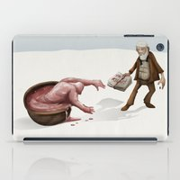 evolution iPad Cases featuring Evolution by Lee Grace Illustration
