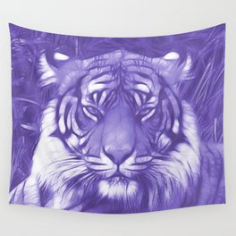 Tiger is Not Amused Wall Tapestry