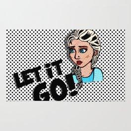 Elsa, The Pop Art Snowqueen Rug