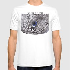 Eye on the Ball Mens Fitted Tee White MEDIUM