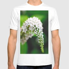 Spring has Bloomed White Mens Fitted Tee MEDIUM