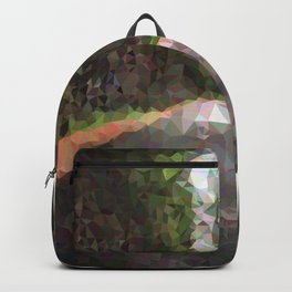 Geometric Road With Trees Backpack