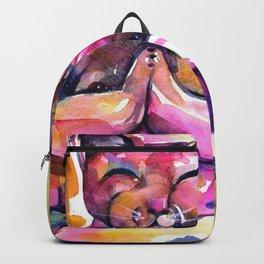 Buddha Cat No. 11 Backpack