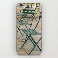 Bryant Park Terrace Sitting iPhone & iPod Skin