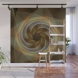 Artistic movement, fractal abstract Wall Mural