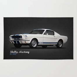 1965 Shelby GT350 Rug