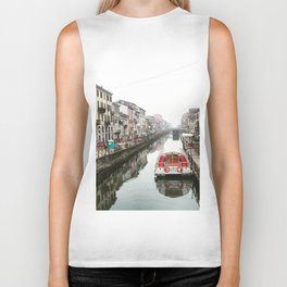 Milano Navigli - Italy Biker Tank