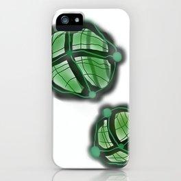 Green Spheres iPhone Case