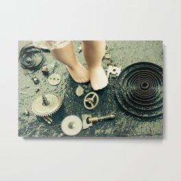 Alice's Escapades ~ Alice Lost In Time  Metal Print