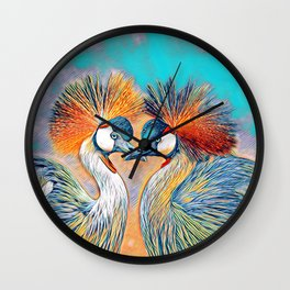 AnimalMix_Bird_004_by_JAMColors Wall Clock