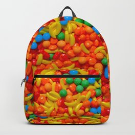 Fruit Candy Photo Pattern Backpack