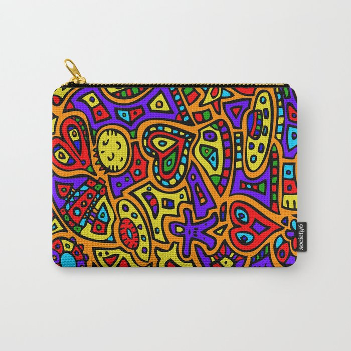 Abstract #416 Carry-All Pouch