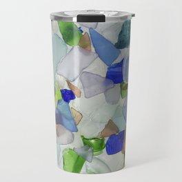 Art Glass Travel Mug