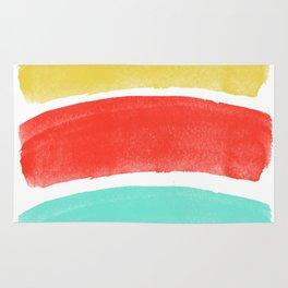 Burst's Of Lines Rug