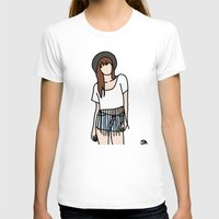 coachella T-shirts featuring Fringe Benefits Coachella Festival Girl by Highly Anticipated