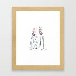 B o n d Framed Art Print