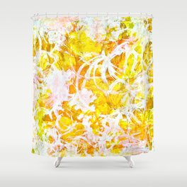 Golden Shine Shower Curtain