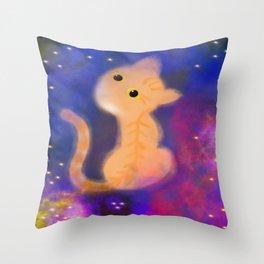 Tybolt`s Galaxy Throw Pillow