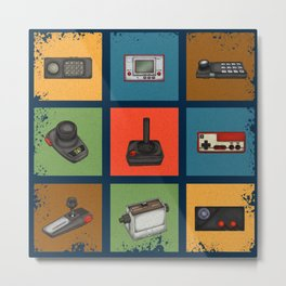 Gaming Generations 3 Metal Print
