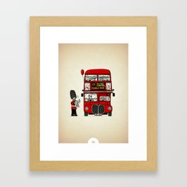 Lost in London Framed Art Print