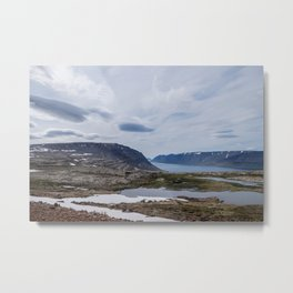 Icelandic Moonscapes - One Metal Print