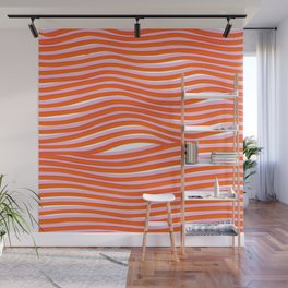 electric zebra stripes Wall Mural