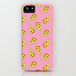 Pizza Pattern By Everett Co iPhone Case