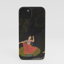 A Heroine Waiting for Her Paramour Vasakasajja Nayika - 18th Century Classical Indian Art iPhone Case