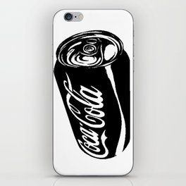 Ink Sketch - Coca-Cola Can iPhone Skin