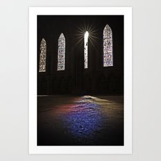 Towards the Light Art Print