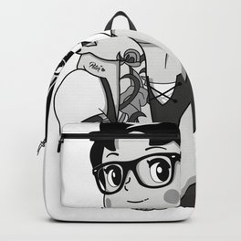 All Grown Up (B&W) Backpack