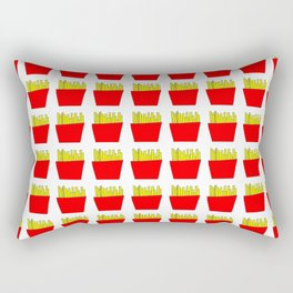 French fries -fries,patatoes,fast food,patato,frites,wedges,patata Rectangular Pillow