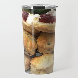 Afternoon tea, scones and jam, home cooking Travel Mug