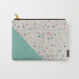 Pez Otomi mint by Ana Kane Carry-All Pouch