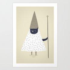 wizard. Art Print