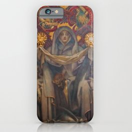 Classical Masterpiece Church Mural by John Singer Sargent iPhone Case